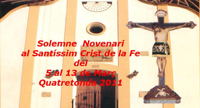 Novenari Santíssim Crist de la Fe