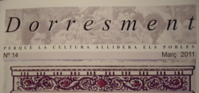 Presentació del núm. 14 de la revista «Dorresment»