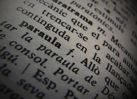 cabòries : «la força de les paraules»