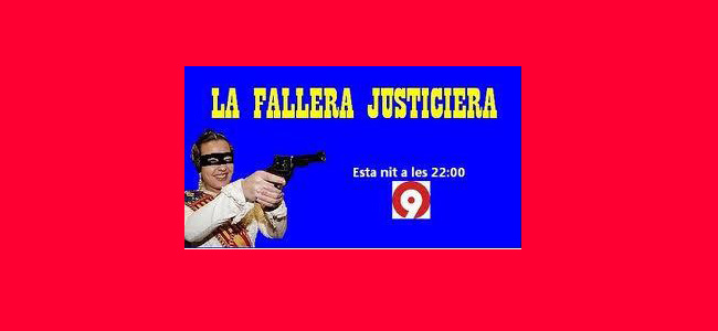 canal 9 la fallera «machor» de tots els valencians