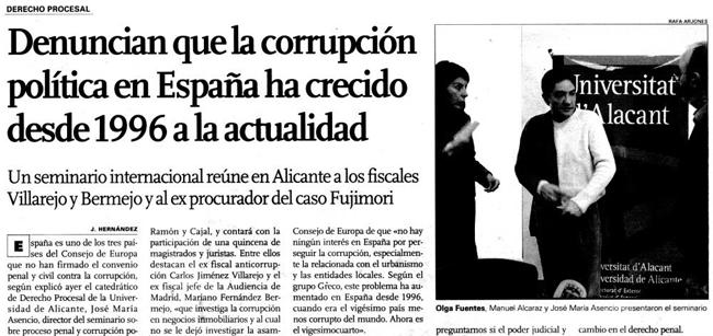 CRISI I CORRUPCIÓ
