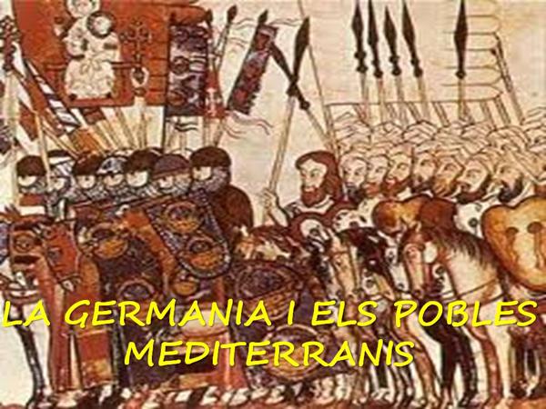 la germania i els pobles mediterranis