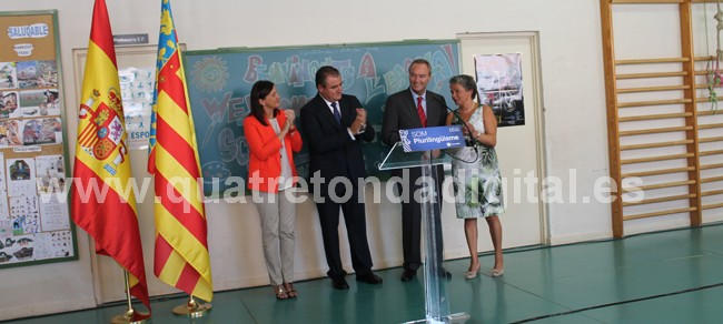 el president de la generalitat inaugura a quatretonda el curs escolar 2012-2013