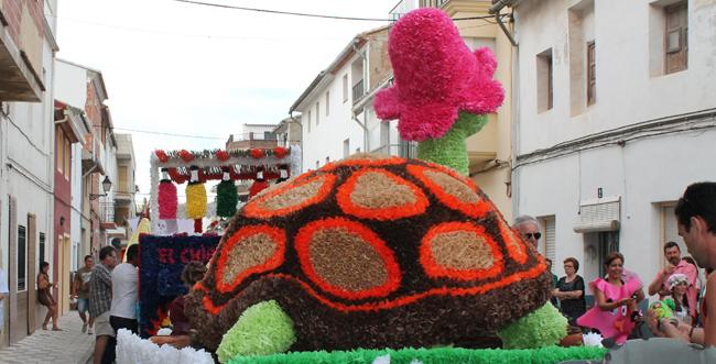 quatretonda en festes : carrosses 2012