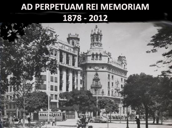 AD PERPETUAM REI MEMORIAM 1878-2012