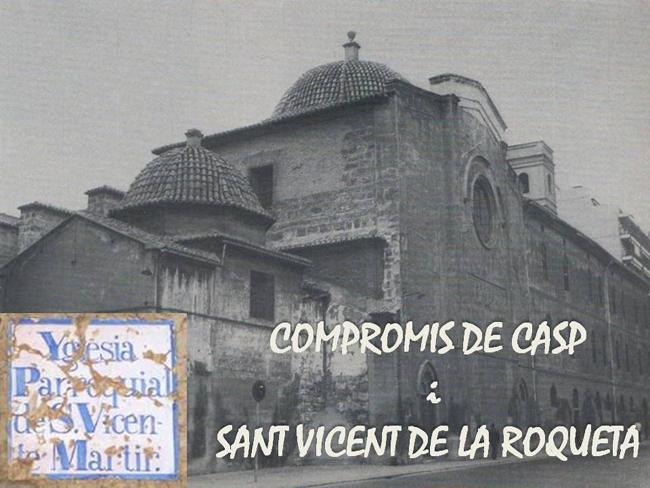 COMPROMÍS DE CASP I SANT VICENT DE LA ROQUETA