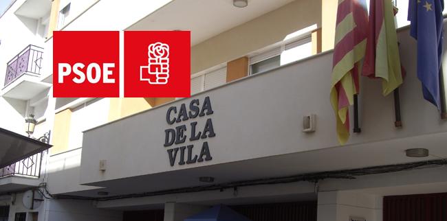 ELS SOCIALISTES DE QUATRETONDA QUALIFIQUEN DE «SENSE SENTIT» LA DECISIÓ DEL PP DE NO DONAR CAP ÚS AL SUPERÀVIT MUNICIPAL