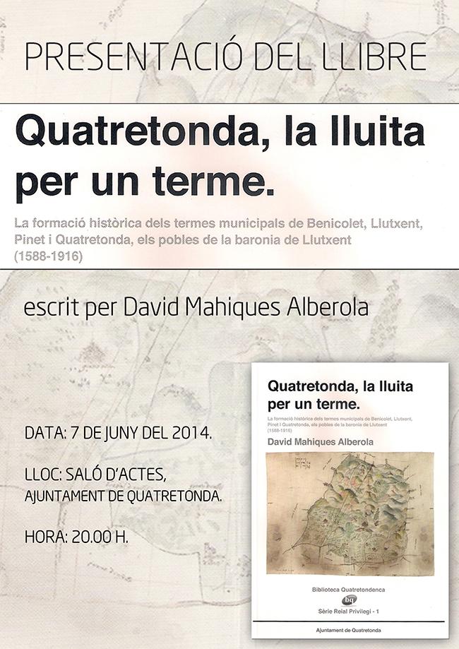 «QUATRETONDA, LA LLUITA PER UN TERME»
