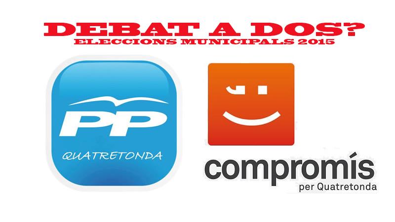 ELECCIONS MUNICIPALS 2015 :DEBAT A DOS ? (28/04/2015)