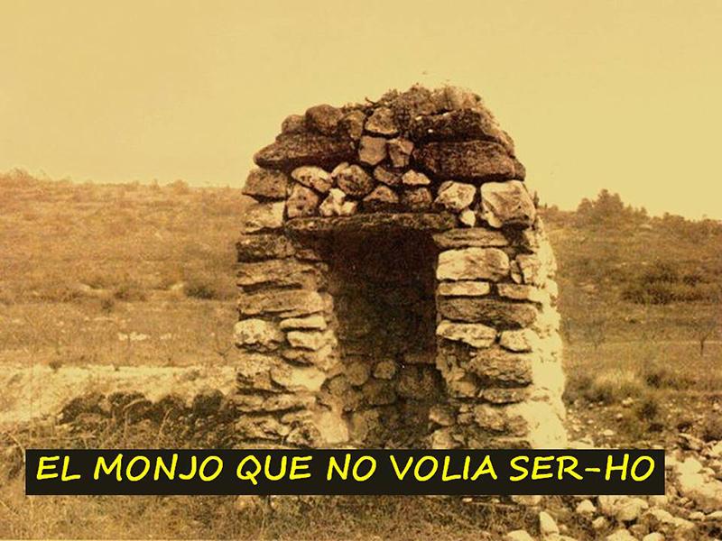 EL MONJO QUE NO VOLIA SER-HO