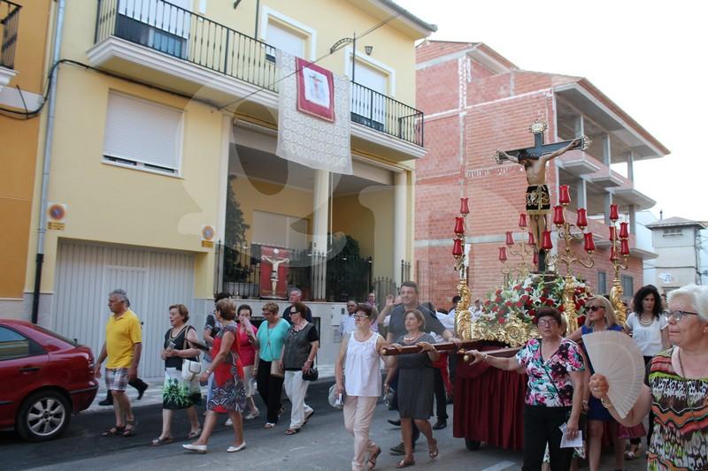 Marxa processional al Crist de la Fe de Quatretonda