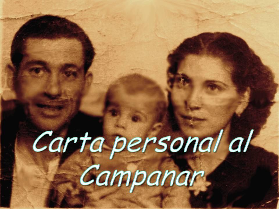CARTA PERSONAL AL CAMPANAR DE QUATRETONDA