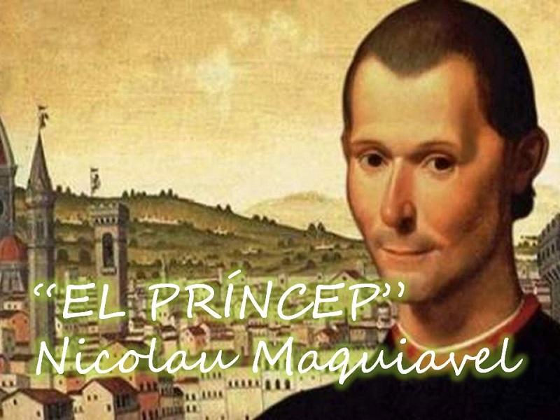 """EL PRÍNCEP"" de NICOLAU MAQUIAVEL"