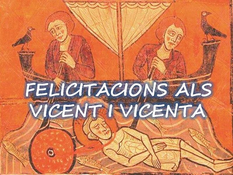 FELICITACIONS ALS VICENT I VICENTA