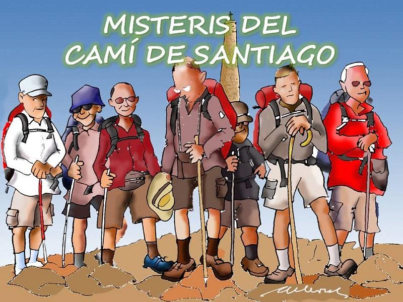 MISTERIS DEL CAMÍ DE SANTIAGO: PELEGRINS LUXURIOSOS