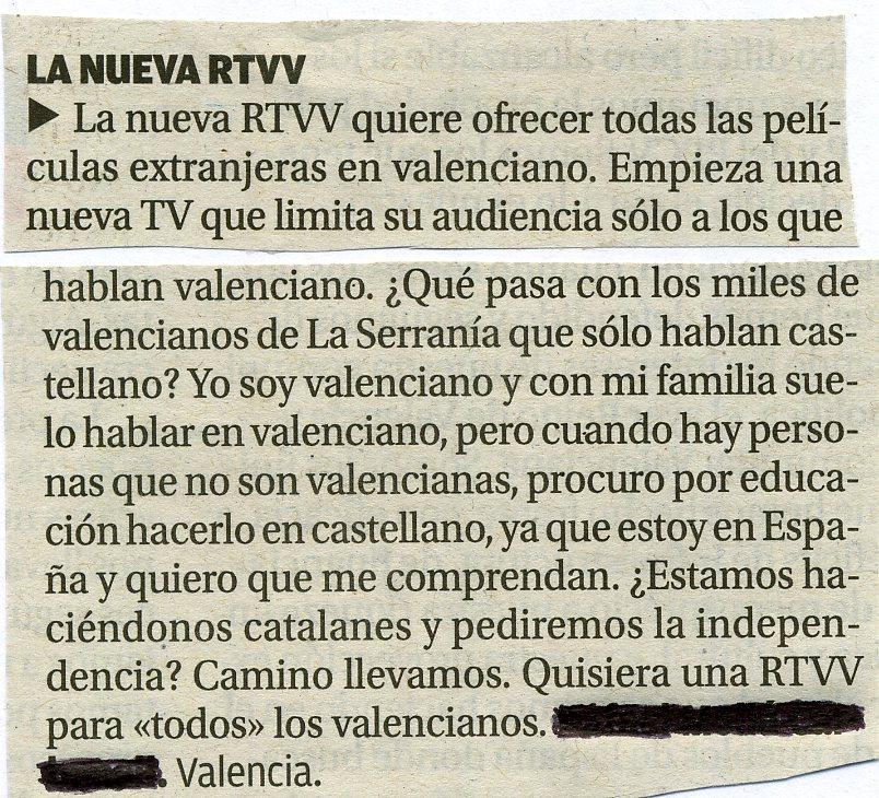 LA NOVA RTVV