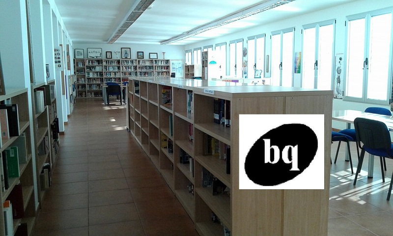 """EN LA CASELLA D'EIXIDA, """"bq"""" UNA BIBLIOTECA DOBLE"""