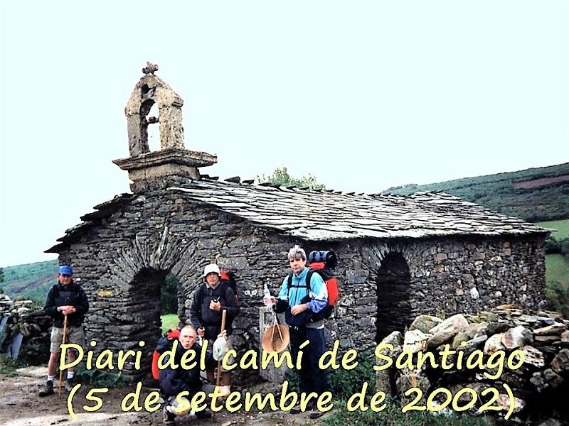 DIARI «DEL CAMÍ DE SANTIAGO» (5 de setembre de 2002)
