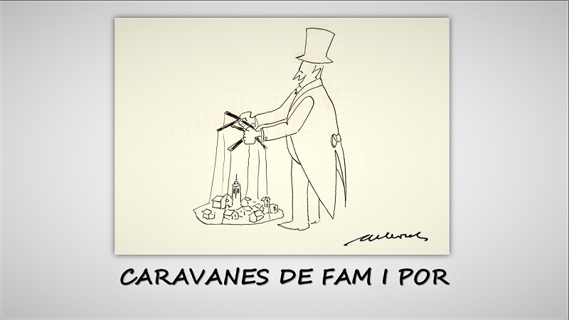 CARAVANES DE FAM I POR
