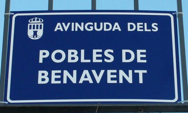 PER L'AVINGUDA DELS POBLES DE BENAVENT