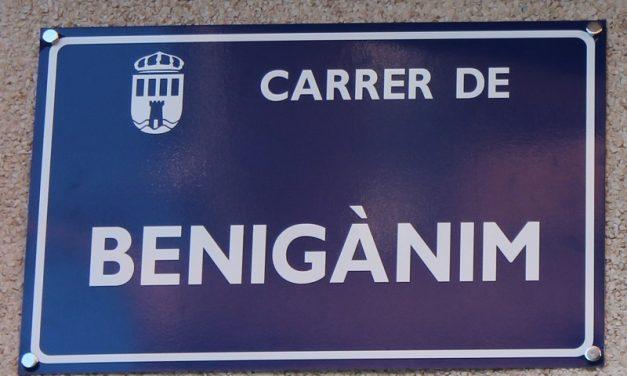 PEL CARRER BENIGÀNIM