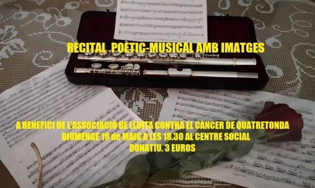 RECITAL POÈTIC-MUSICAL AMB IMATGES