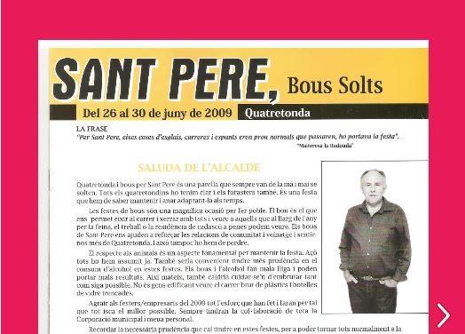 REVISTA BOUS SANT PERE 2009