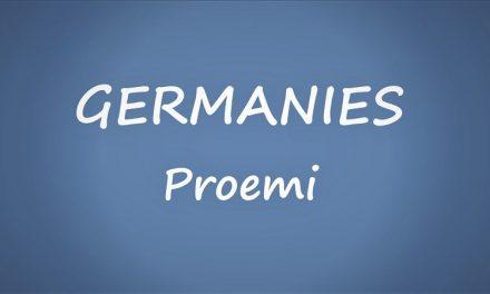 LES GERMANIES.PROEMI.