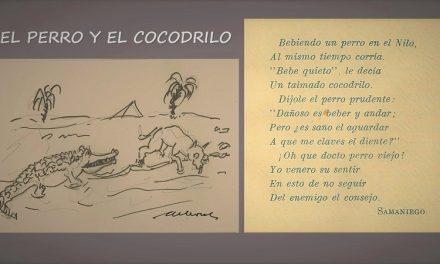 EL PERRO Y EL COCODRILO