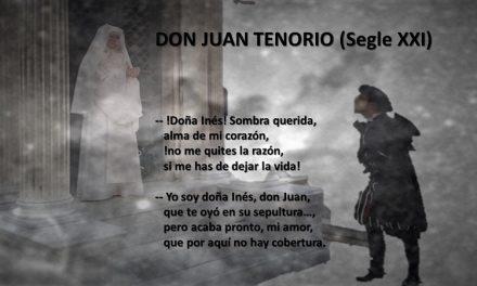 DON JUAN TENORIO (SEGLE XXI)