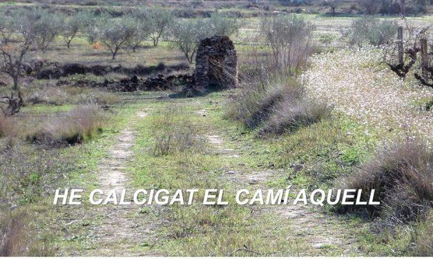 He CALCIGAT EL CAMÍ AQUELL