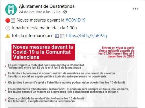 ESCAC A LA VIDA, ESCAC MAT AL COVID-19