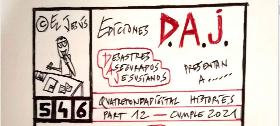 EDICIONES D.A.J 546: PART 12 CUMPLE 2021